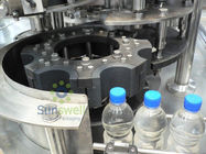 Plastic Bottles piston Filling Machine / Production Line for coffee
