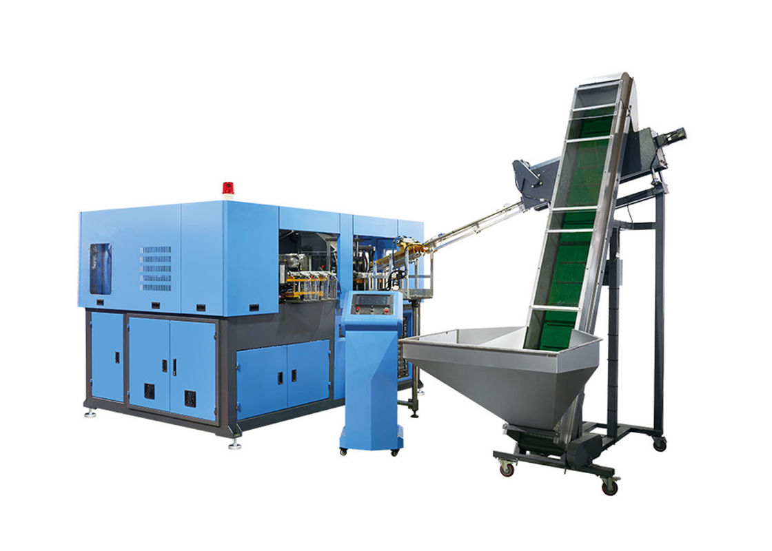 3000BPH - 4000BPH Automatic Blow Molding Machine 4 Cavity Servo Pet Bottle Making Machine