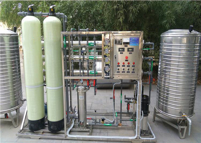 Underground Tap Water Treatment Equipments RO Drinking Pure Mineral Water Purification